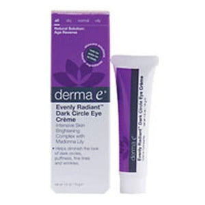 Evenly Radiant Dark Circle Eye Creme .5 OZ By Derma e