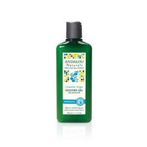 Shower Gel Energizing Clementine Ginger 11 oz By Andalou Naturals