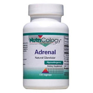 Adrenal Natural Glandular 150 CAPS By Nutricology/ Allergy Research Group