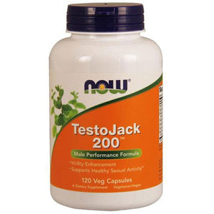 TestoJack 200 120 vcaps By Now Foods