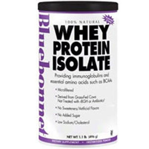 100% Natural Whey Protein Isolate Powder - Natural French Vanilla Flavor 1 lb