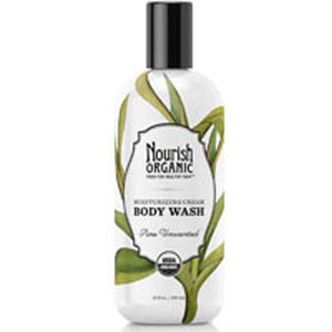 Body Wash Pure Unscented 10 oz By Nourish