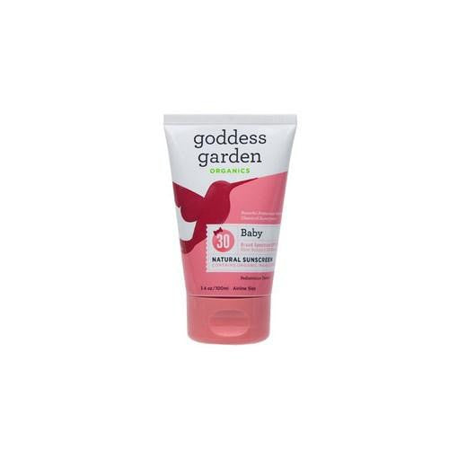 Baby Natural Sunscreen SPF 30 3.4 OZ By Goddess Garden