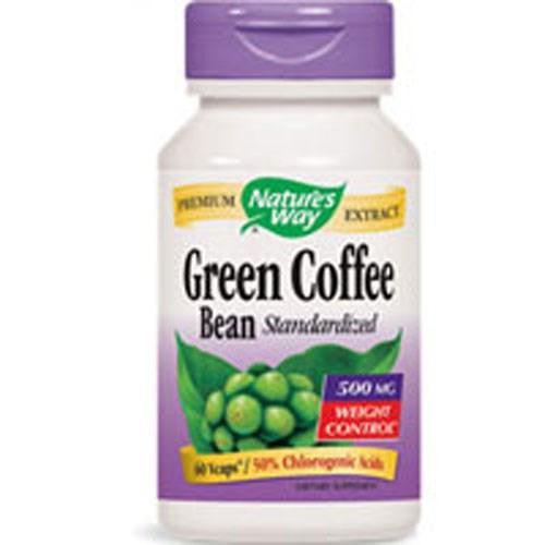 Green Coffee Bean Standardized 60 VCaps By Nature's Way