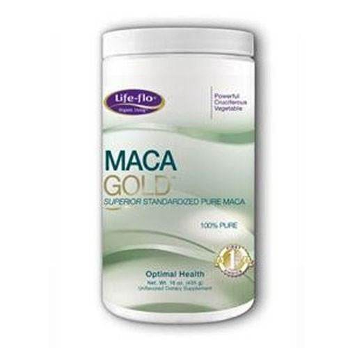Organic Maca Gold 16 oz By Life-Flo