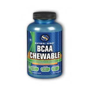 BCAA Chewable Orange 60 Chews By Natural Sport