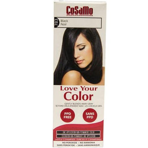 Cosamo Hair Color Black 3 oz By Love Your Color
