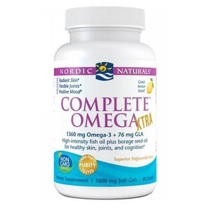 Complete Omega-3.6.9 Xtra Lemon Taste 60 Softgels By Nordic Naturals