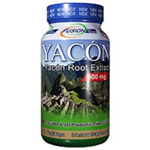 Yacon Root Extract 60 Vcaps By Fusion Diet Systems