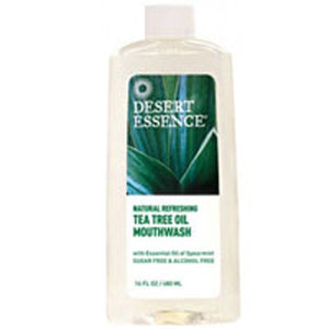 Ultra Care Mouthwash Tea Tree Oil 16 Oz By Desert Essence