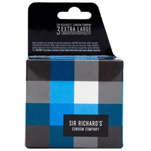 Extra Large Condoms 3 Ct By Sir Richard's Condom Company