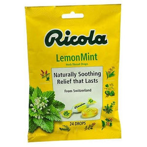 Herb Throat Drops Natural 24 Each By Ricola