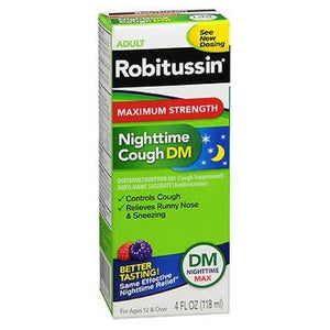 Nighttime Cough DM Adults 4 Oz By Advil