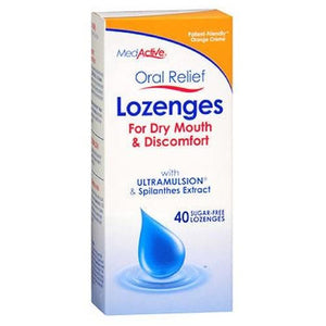 Oral Relief Lozenges 40 Each, Orange CrFme By MedActive