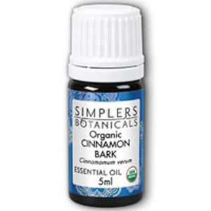 Organic Cinnamon Bark 5 ml By Simplers Botanicals