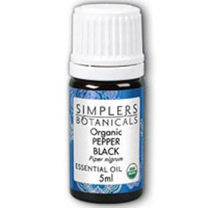 Organic Pepper Black 5 ml By Simplers Botanicals