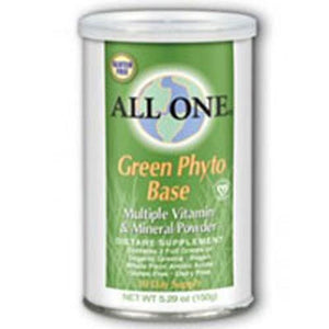 Green Phyto-Base Powder 10 Day supply 5.29 Oz By All-One (Nutri-Tech)