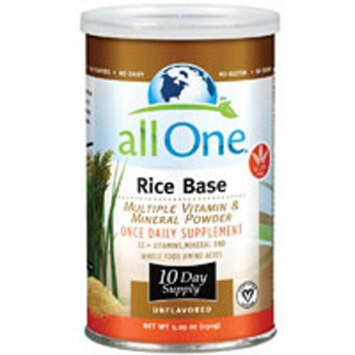 Multiple Vitamin and Mineral Powder, Rice Base 5.29 Oz (10 Day supply) By All-One (Nutri-Tech)