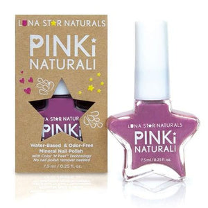 Pinki Naturali Nail Polish Concord Baby Purple 0.27 Oz By Lunastar
