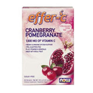 Effer-C Cranberry Pomegranate Packets 30 ct By Now Foods