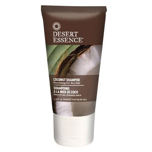 Coconut Shampoo Travel Size 1.5 Oz By Desert Essence