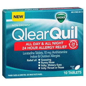 QlearQuil 24 Hour Allergy Relief Tablets 10 Tabs By Procter & Gamble