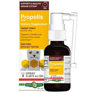 Propolis Esvp Kids Throat Spray .68 Oz By Erba Vita