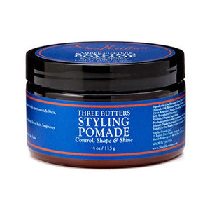 Three Butters Mens Styling Pomade 4 Oz By Shea Moisture
