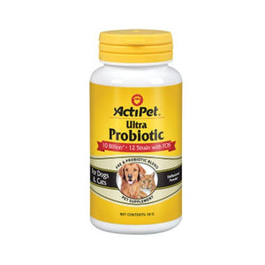 Ultra ProBiotic Natural 50 Grams By ActiPet