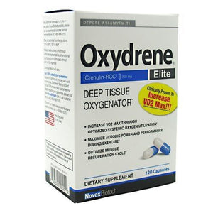 Oxydrene Elite 120 Caps By Novex Biotech