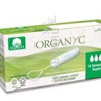 Non-Applicator Super Tampons 16 Count By Organyc