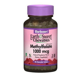 EarthSweet Chewables Cellular Active Methylfolate 90 Chewable Tabs By Bluebonnet Nutrition