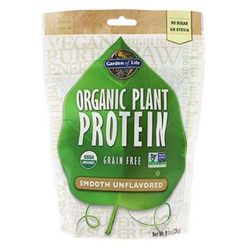 Organic Plant Protein Smooth Natural 1 Tray By Garden of Life