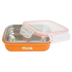 BPA Free Bento Box Orange 1 Count By Thinkbaby