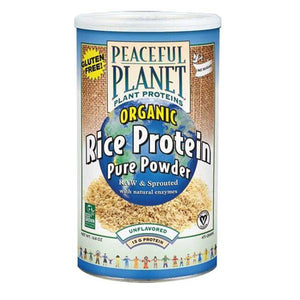 Organic Rice Protein Pure Powder Unflavored 16.8 oz By VegLife
