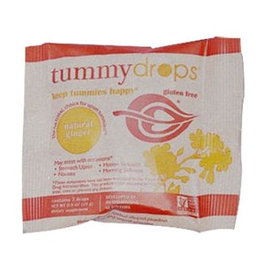 Tummydrops Double Ginger Peach .9 oz By Tummy Drops