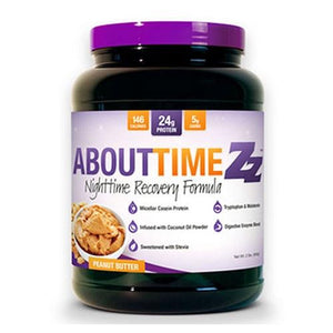 Nighttime Recovery Formula Peanut Butter 2 lbs By About Time