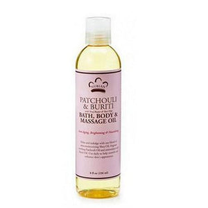 Bath - Body & Massage Oil Patchouli & Buriti 8 oz By Nubian Heritage