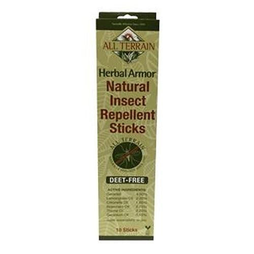 Herbal Armor Sticks 10 Count By All Terrain
