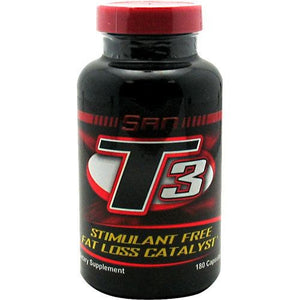 T-3 180 Caps By SAN Supplements