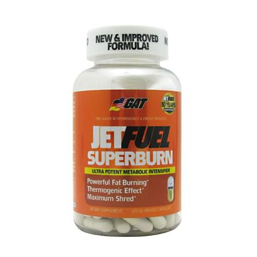 Jet Fuel Superburn 120 Caps By German American Technologies