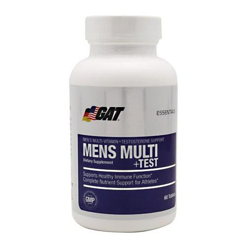 Mens Multi Test 60 Tabs By German American Technologies