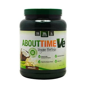ABOUT TIME VEGAN PROT - Chocolate 2 lbs