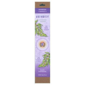 Ayurvedic Incense Sambrani 1 Count By Auromere