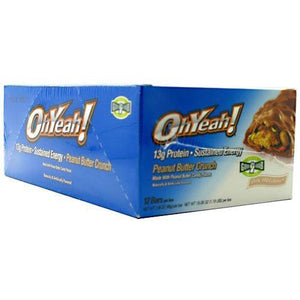 Oh Yeah Bar Peanut Butter Crunch 45 Gram(case of 12) By ISS Complete