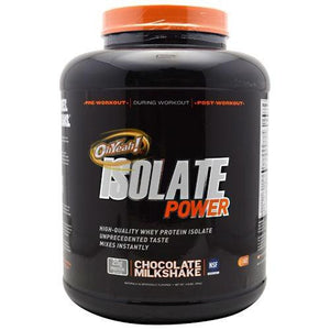 Oh Yeah! Isolate Power Chocolate 4 lbs By ISS Complete