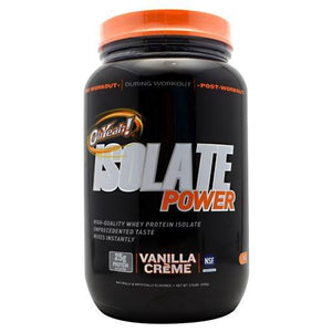 Oh Yeah! Isolate Power Vanilla 2 lbs By ISS Complete