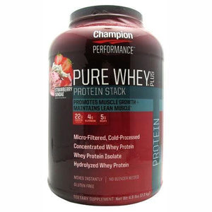 Pure Whey Plus Protein Powder Cookies & Cream 4.8 lbs By Champion Nutrition
