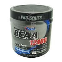 BCAA 12400 Blue Raspberry 450 g By Advanced Nutrient Science Intl