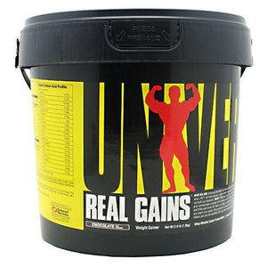 REAL GAINS Chocolate 3.81 lbs By Universal Nutrition